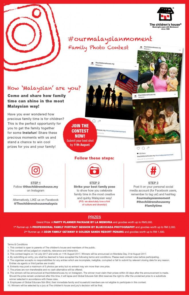 Family Portrait Contest by The children's house! | Education