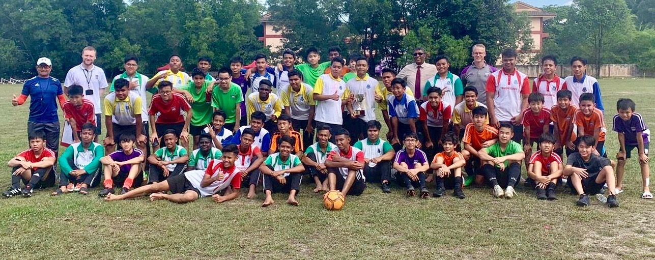 The International School @ ParkCity and SMK Menjalara Football Team and International School in Negeri Sembilan, Malaysia